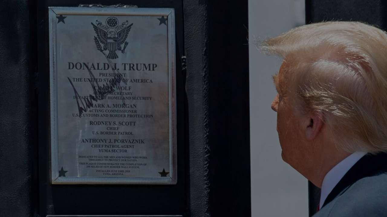 트럼프 대통령 , 1월 12일 알라모 연설