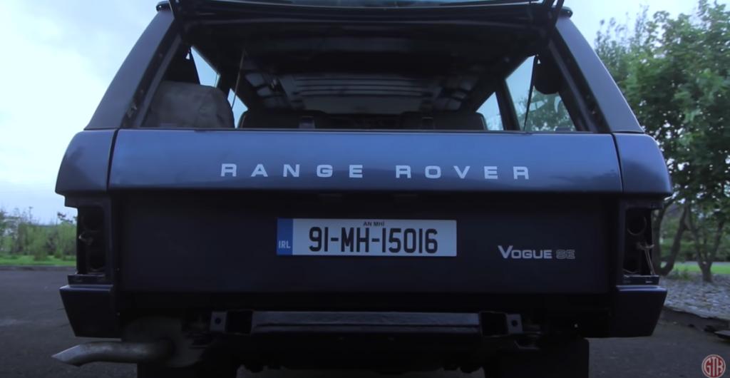 차량 복원의 끝판왕, Restored a classic Range Rover