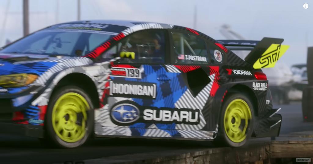 넉놓고 보는 WRC 차량 묘기 : 표정 압권