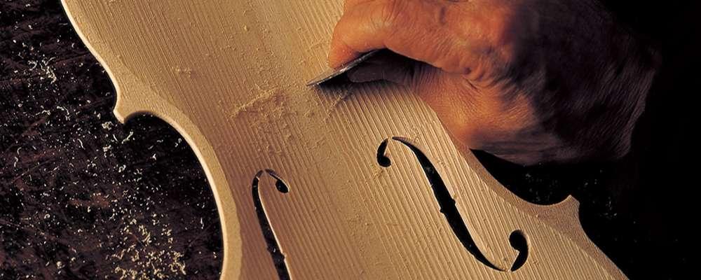 현악기 장인이 바이올린을 만드는 과정