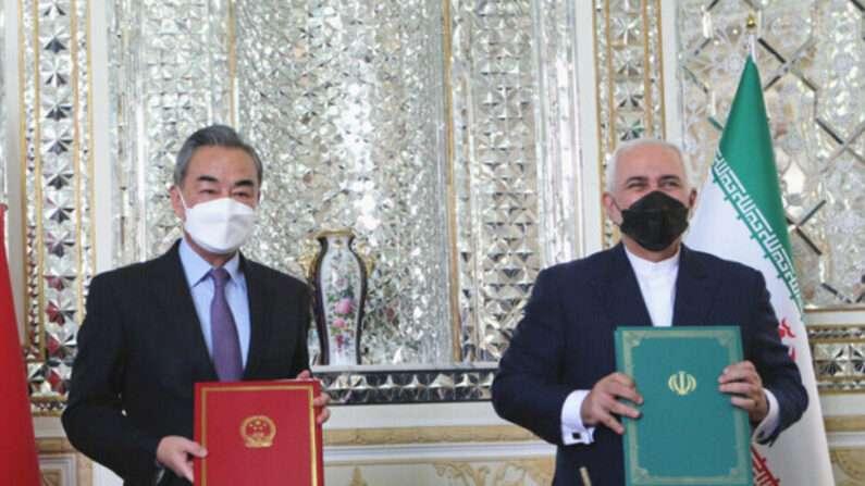 미국에 도전하는 중국, 이란과 전략 협정으로 위협능력 키웠다