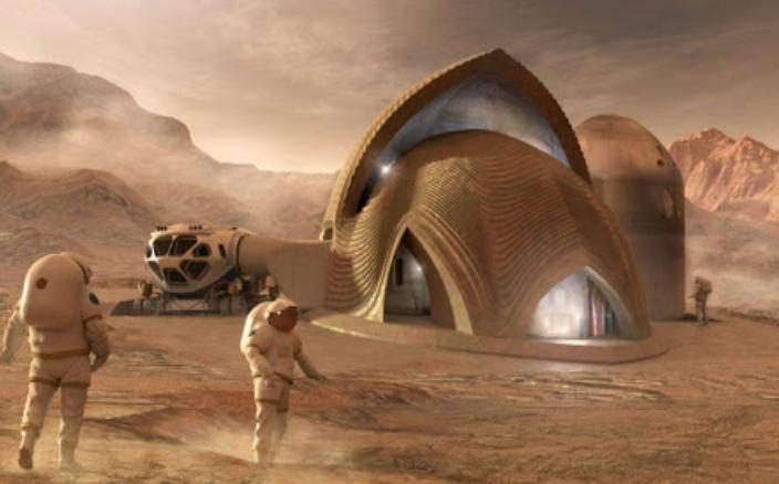 3D프린터 산업도 결국 화성 이주 기술