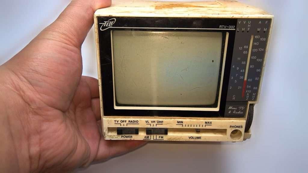 1992년 제작 된 미니 TV 복원