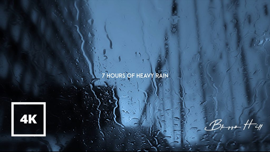 Relaxing Rain Sounds in the Car