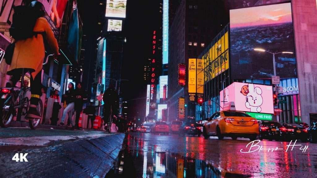 '뉴욕의 불금' 감상하고 가세요