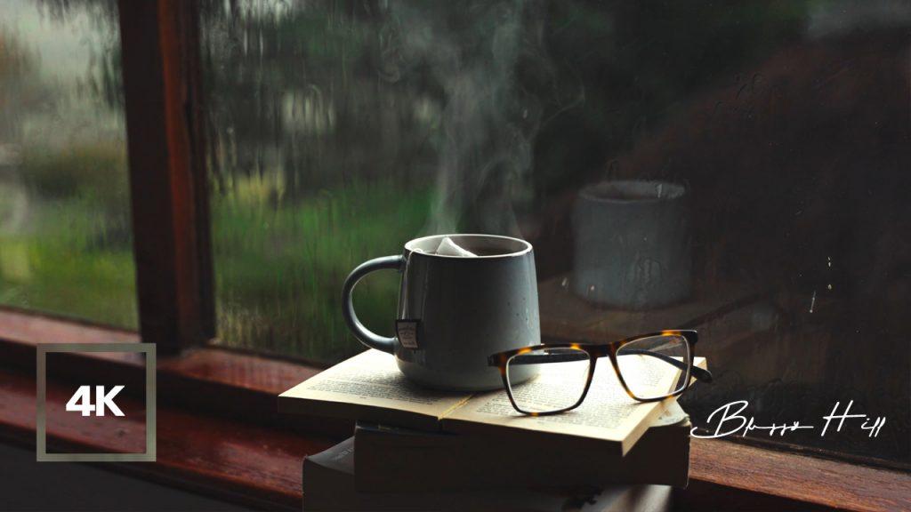 Rainy Day Coffee Shop Ambience