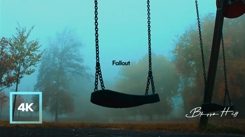 8 hours of Rain Sounds on the SwingㅣFalloutㅣPost-Apocalyptic, Dystopia Ambience