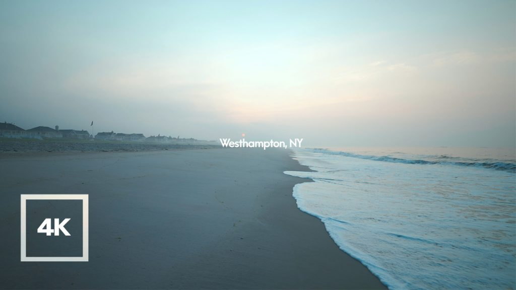 Soundscape of Sunrise on the BeachㅣPeaceful Wave Sounds