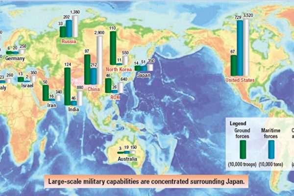 """""""대만 침공하면 개입"""" 세계 5위 일본의 군사력은? 3위 중국과의 비교"""