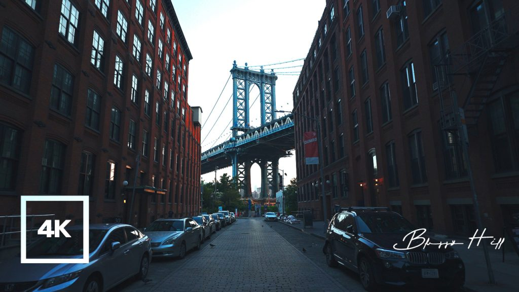 Walking Around Dumbo, Empire Fulton Ferry and Brig Park in the Early Morning…