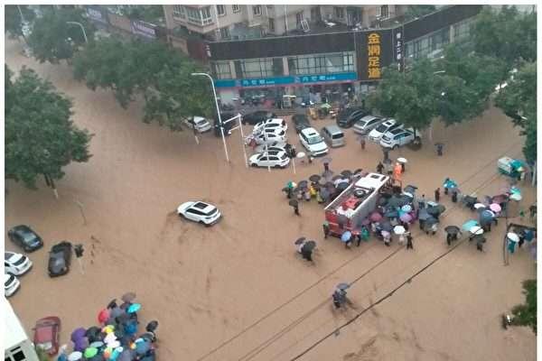 """잇단 중국 수해는 예견된 재앙… """"속도 위주의 도시 건설 결과"""""""