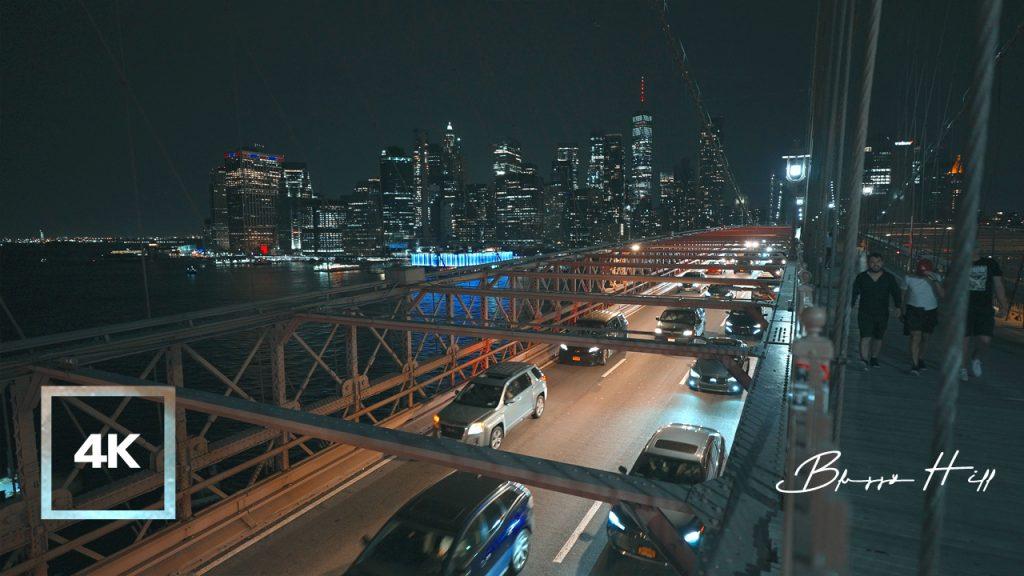 Soundscape of Brooklyn Bridge, New York City