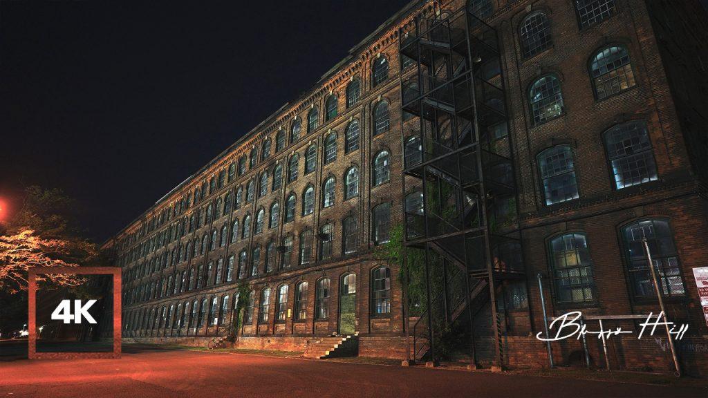 City White Noise from Huge Warehouse near Port