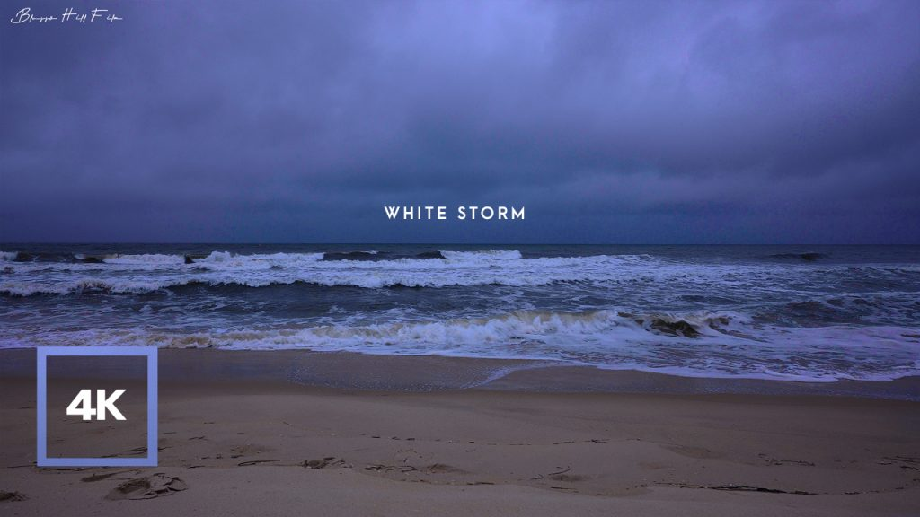 Soundscape of Atlantic Ocean Beach for Deep Sleepㅣ4K Ambience