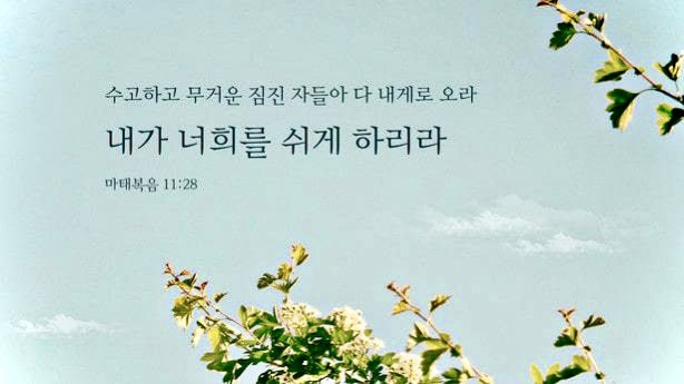 Read more about the article 믿음과 평안