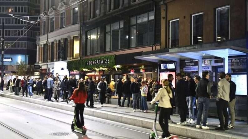 코로나 규제 종식 첫날, 노르웨이인들 거리 곳곳서 일상 만끽